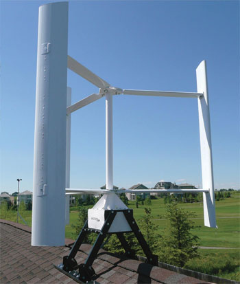 mega volt: Tell a Diy wind turbine vawt